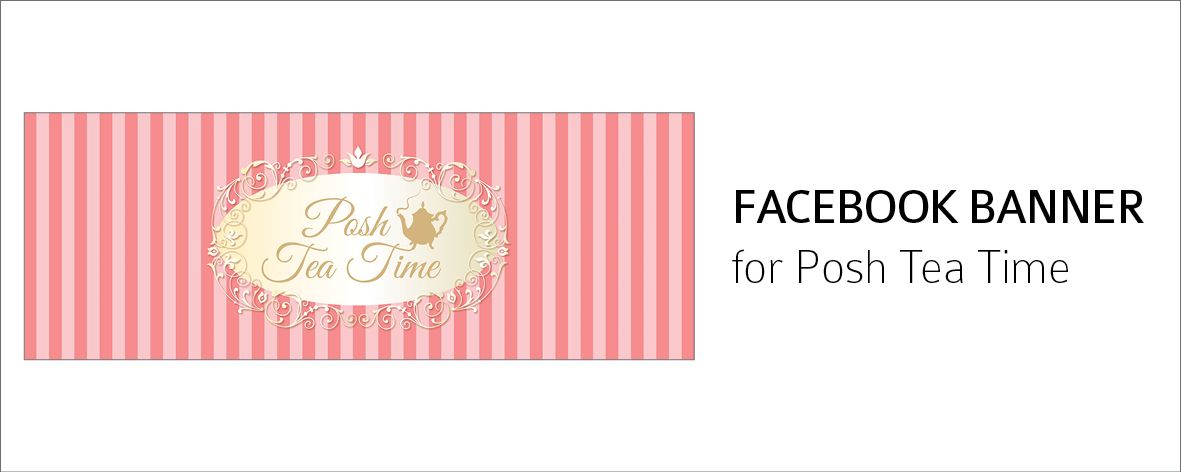 Posh Tea Time FB Banner
