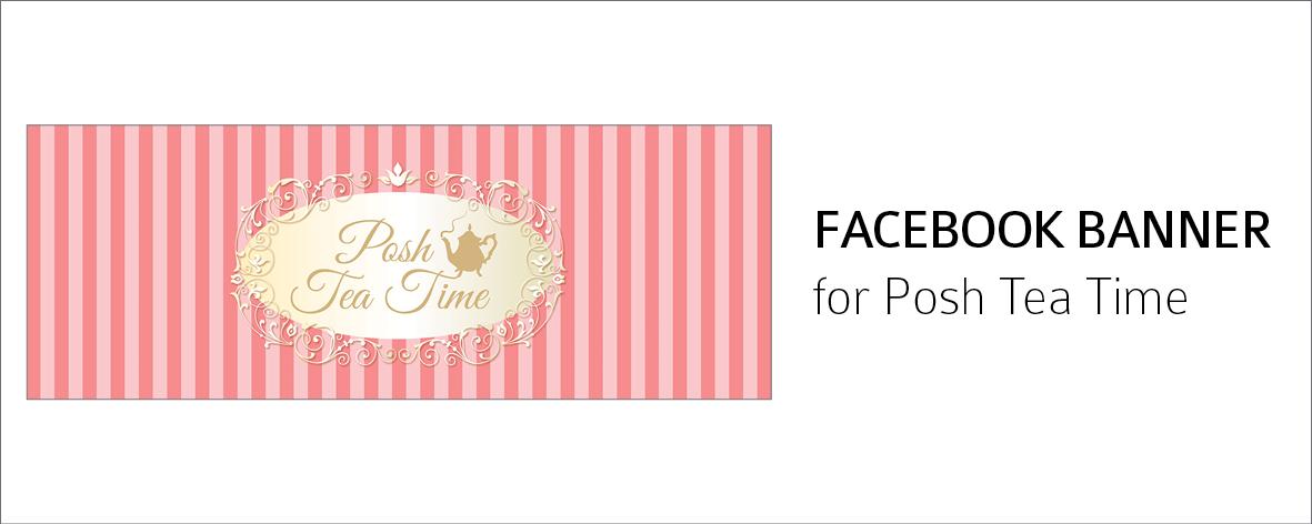 Posh Tea Time FB Banner
