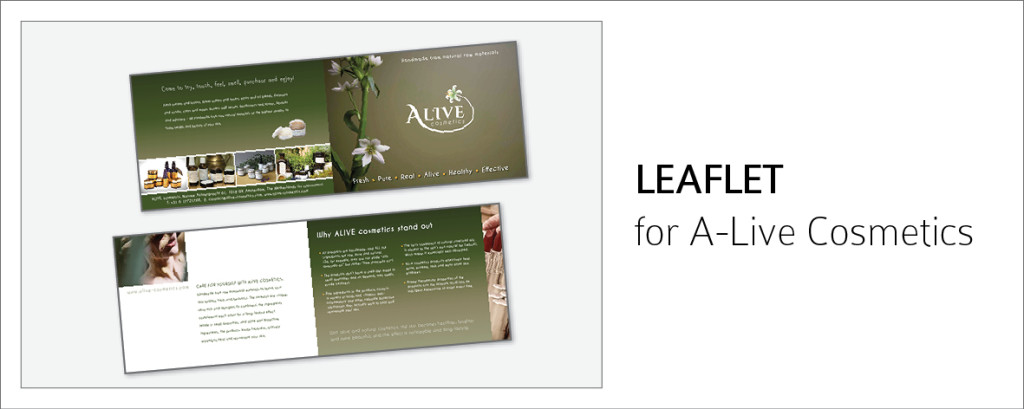 Alive Leaflet