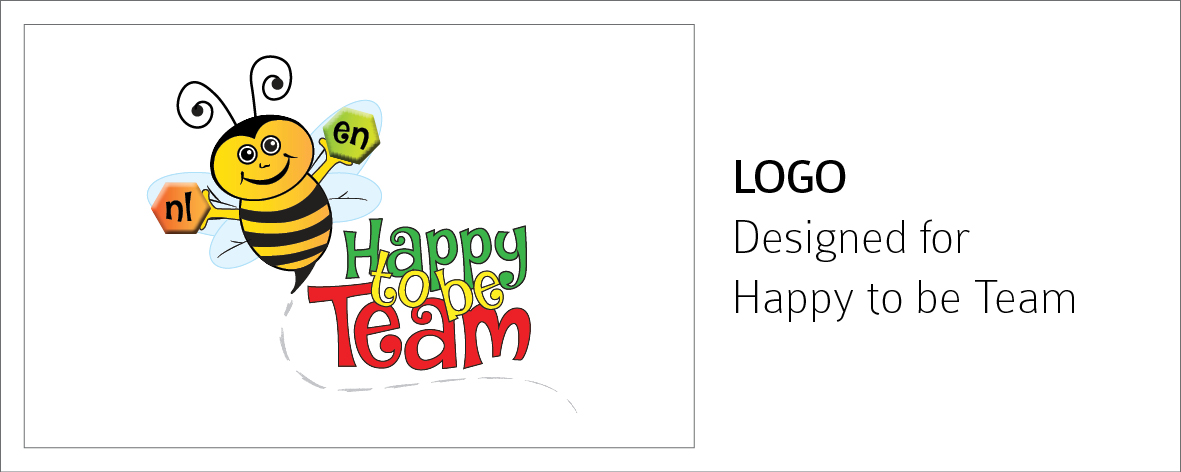 Happy to be Team Logo