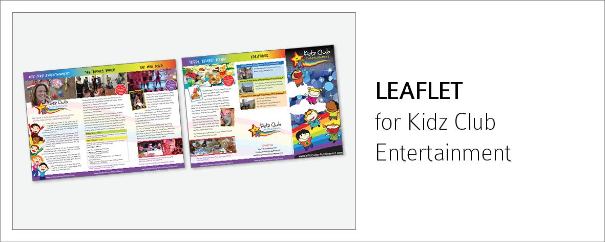 KidzClub Leaflet