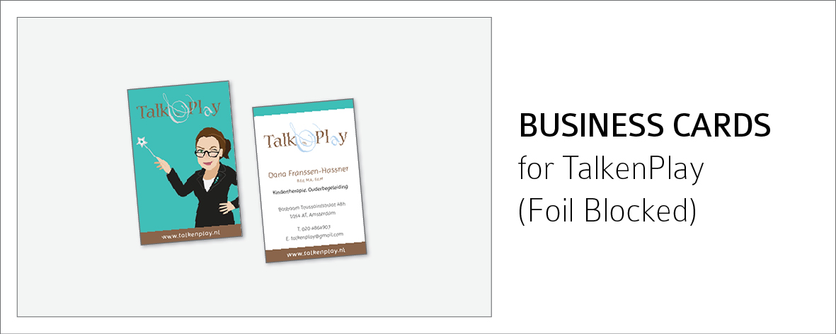 TalkenPlay Biz cards