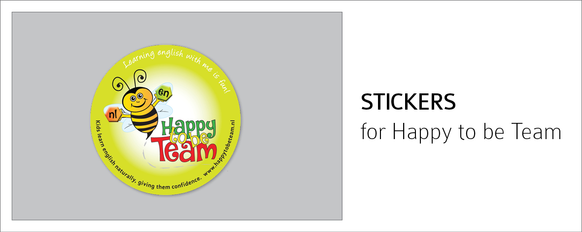 happy to be Team Sticker