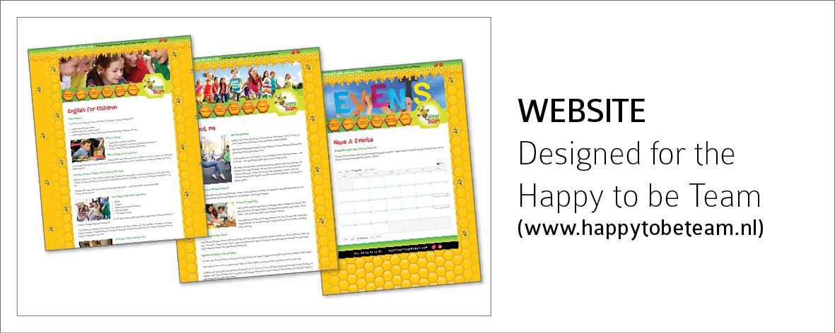 HappytobeTeam-Website